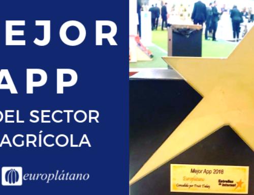 Europlátano, premio a la mejor APP del sector agrario en España.