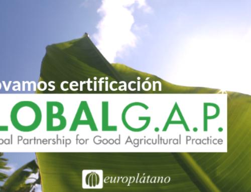 ¡Renovamos certificación GLOBAL G.A.P.!