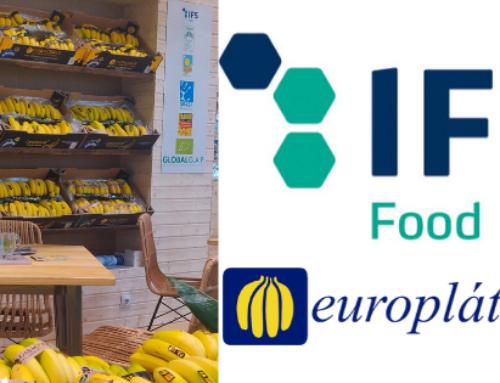 Europlátano, primera empresa del sector del plátano en certificarse en IFS Food.