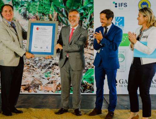 Acto de entrega del certificado IFS Food