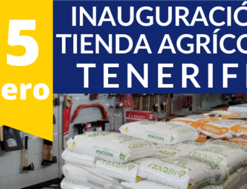 Inauguramos tienda agrícola en TENERIFE