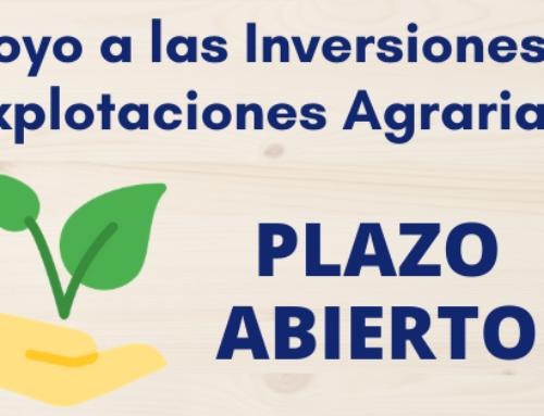 Convocatoria de subvenciones de Apoyo a las Inversiones en Explotaciones Agrarias