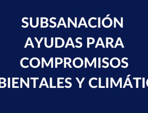 AYUDAS PARA COMPROMISOS AMBIENTALES Y CLIMÁTICOS DE LA CONSEJERÍA DE AGRICULTURA
