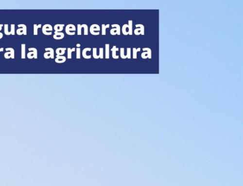 Jornada Agua Regenerada para la Agricultura
