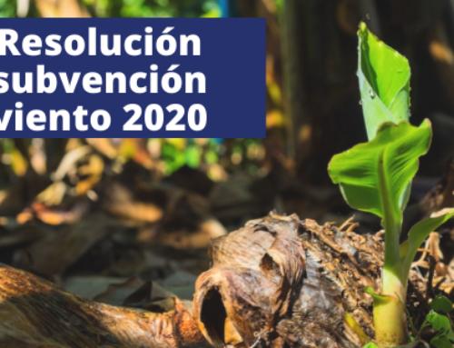 Resolución subvención viento – 2020